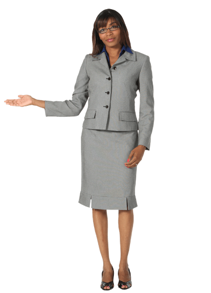 image of professionally dressed woman