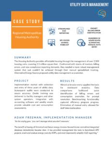 Utility Invoice Management Case Study