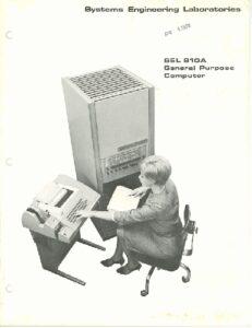 SEL 810A computer