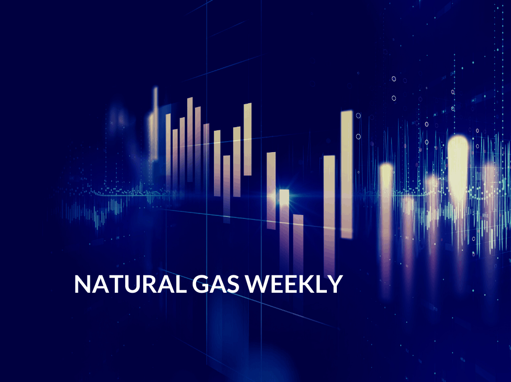 Natural Gas Weekly stock candle chart